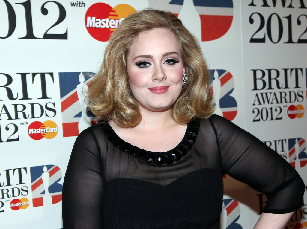 El eyeliner perfecto de la cantante Adele