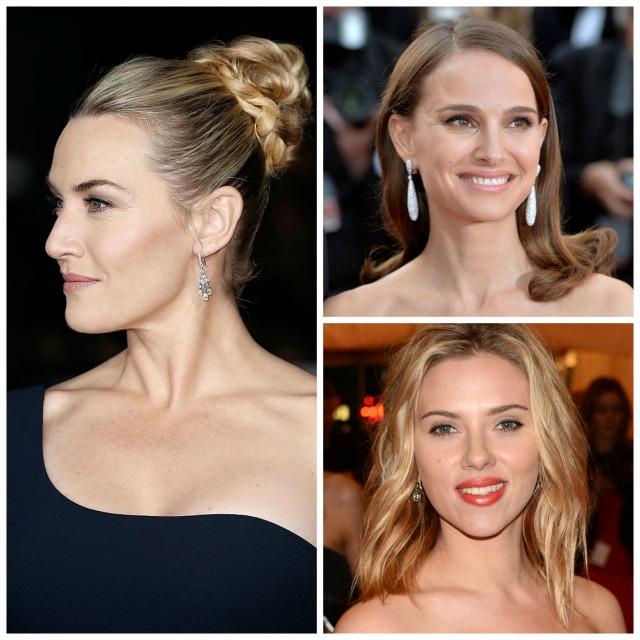 Kate Winslet, Natalie Portman y Scarlett Johansson.