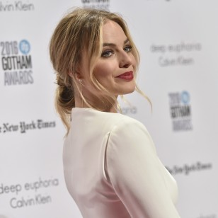 Actress Margot Robbie at the 26th Annual Gotham Independent Film Awards on Monday, Nov. 28, 2016, in New
