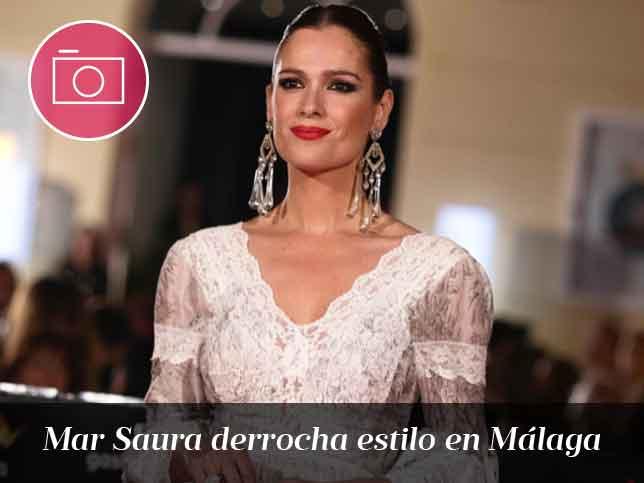 Los detalles del look de Mar Saura en Màlaga