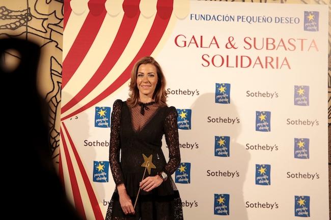 Inés Sainz, con look con transparencias