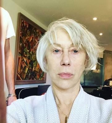 Helen Mirren sin maquillaje