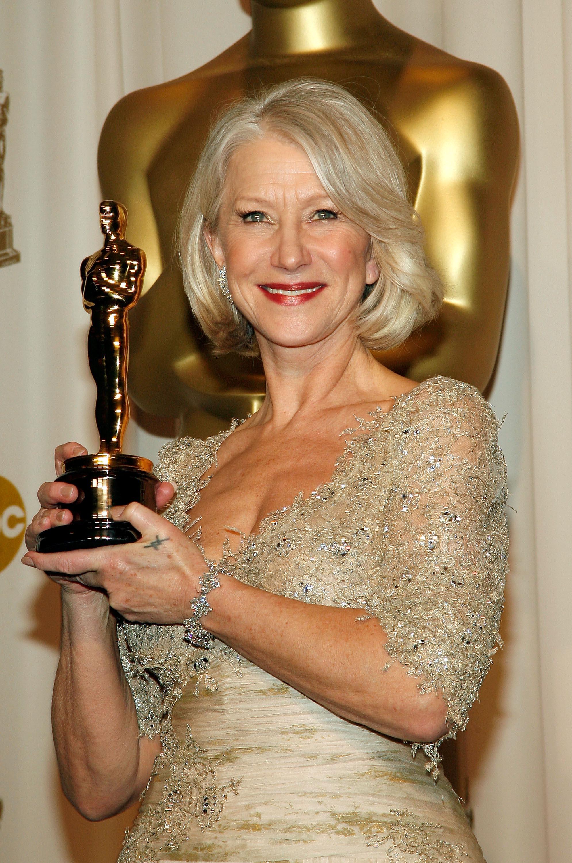 Helen Mirren en los Oscar 2007