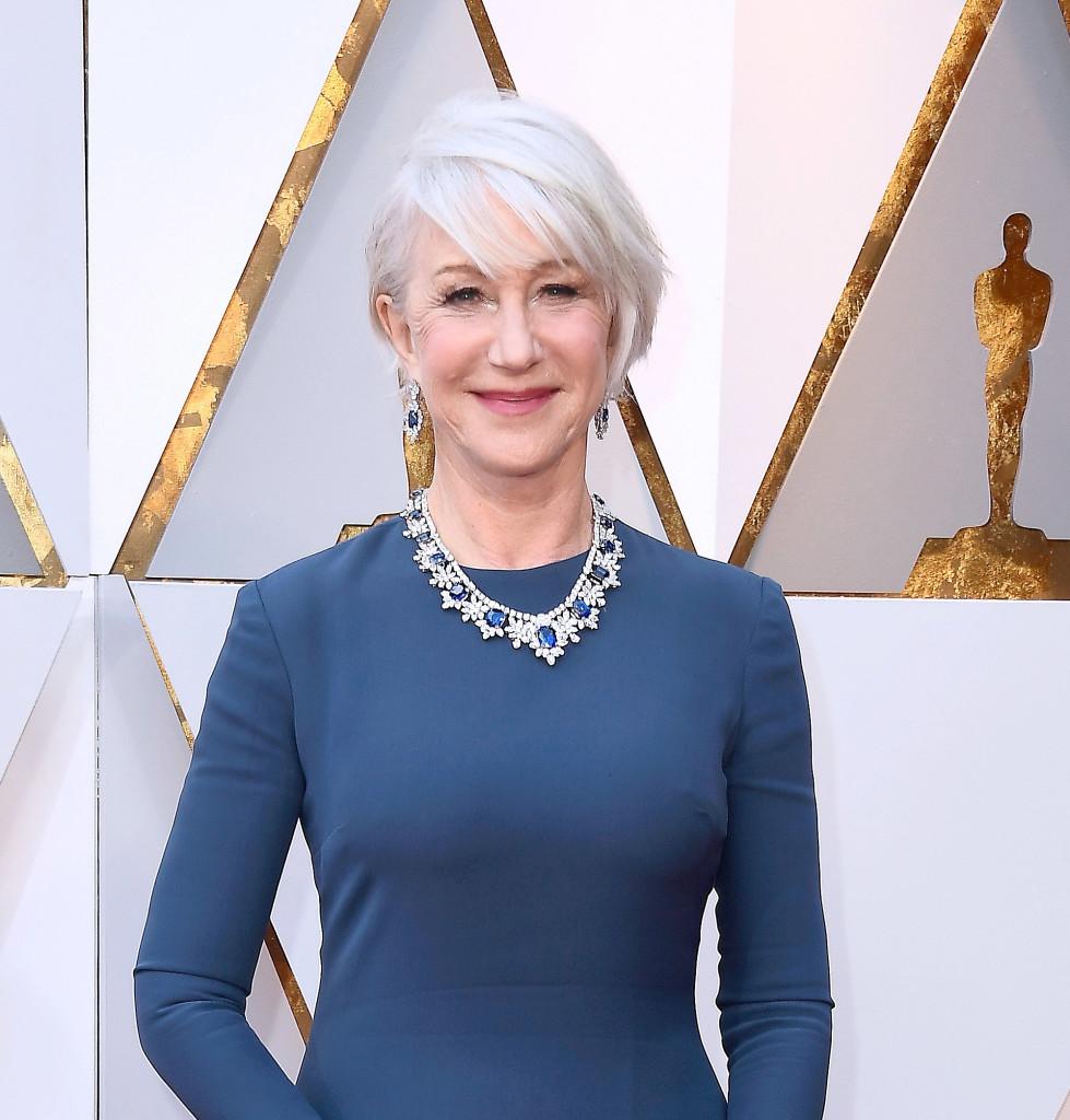 Helen Mirren en los Oscar 2018