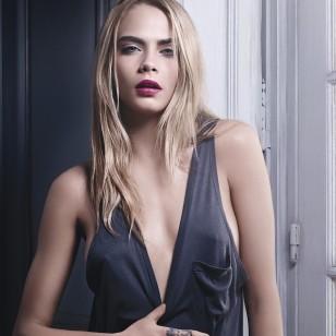 La modelo Cara Delevingne.
