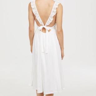 Vestido de algodón de H&M 39,99 €