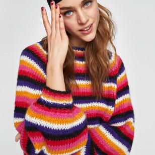 Jersey de rayas de Zara: Antes 29,95 EUR/Ahora 15,99 EUR