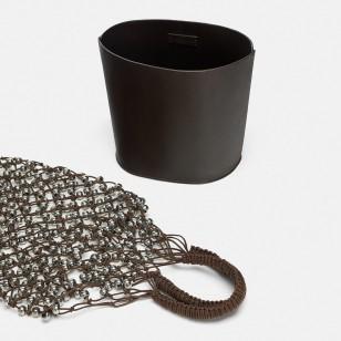 Bolso con red de Zara 49,95 EUR