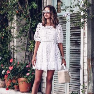 El mes en 31 looks: El vestido blanco