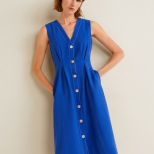 Vestido azul de Mango 49,99 €