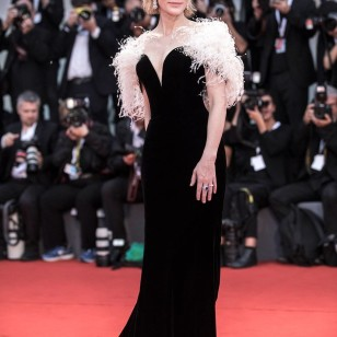 Cate Blanchett de  Armani Privé.
