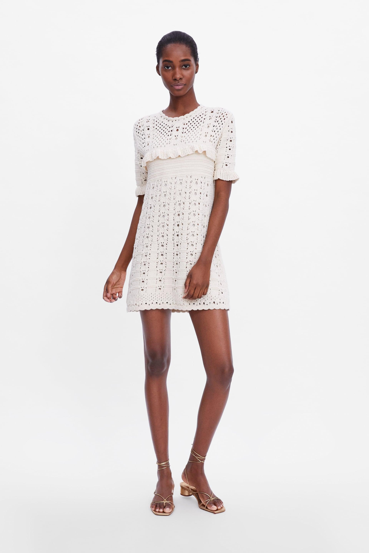 Zara Y Las Mil Y Una Prendas De Crochet Mujerhoycom