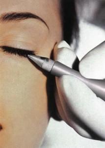 Eye liner dermopigmentacion