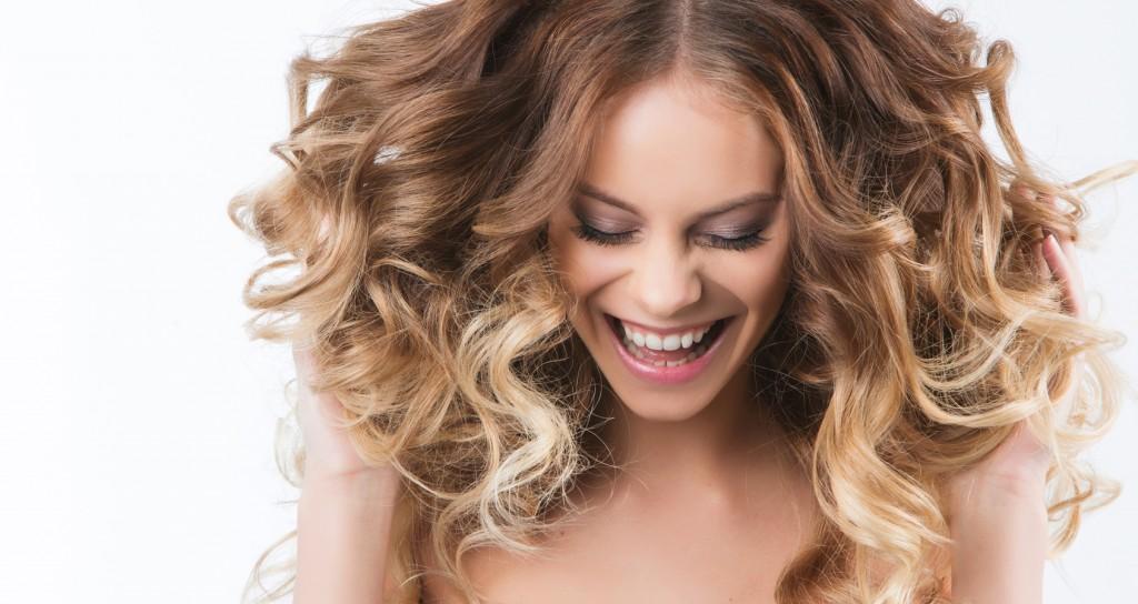 Beauty. Portrait of beautiful smiling girl.