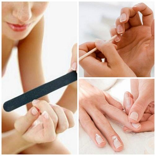collage limado, masaje y cutículas