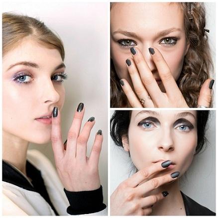 collage uñas pasarela