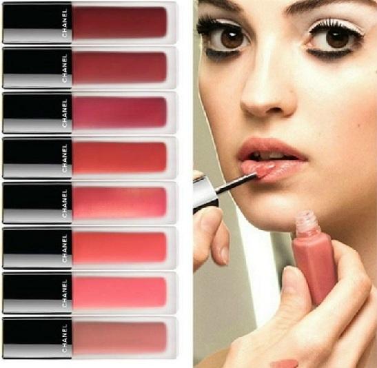 collage chanel tinte labios colección