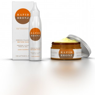 Nueva cosmética para la primavera: Crema autobronceadora Rapid Bronz