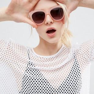 Cara protegida y ojos con gafas