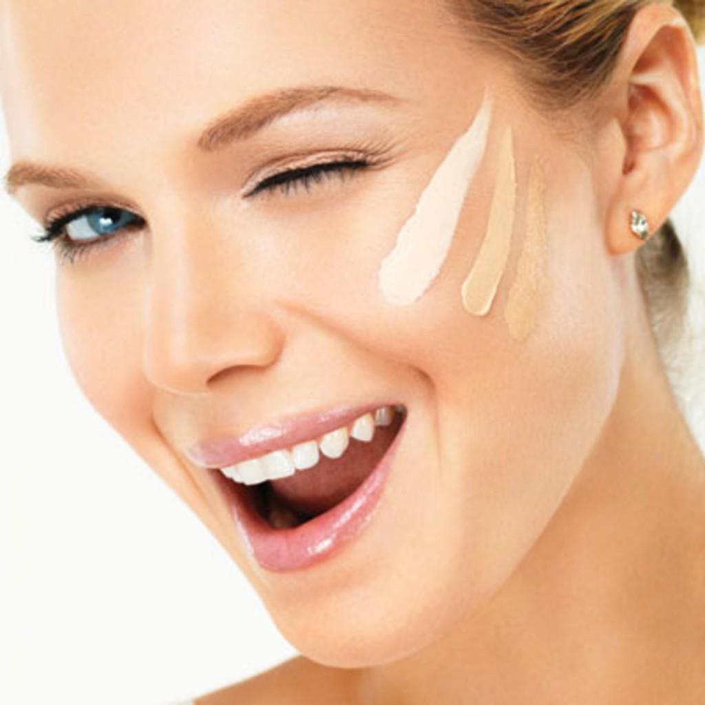 maquillaje con SPF