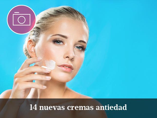14 nuevas cremas antiedad