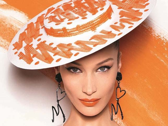 tendencias-maquillaje-primavera-labios-naranja-moschino-bella-hadid