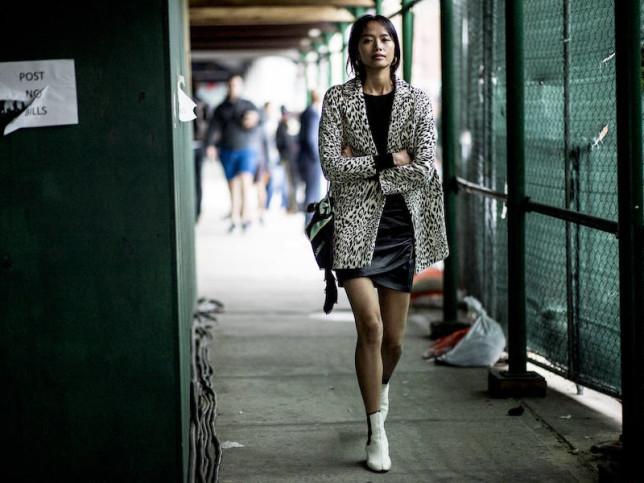 Cómo llevar el estampado de leopardo con el estilo de las influencers de Nueva York