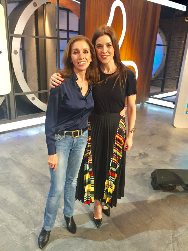 Ana Belén, con Raquel Sánchez Silva en 'Likes'