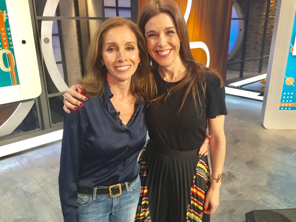 Raquel Sánchez Silva, junto a Ana Belén en 'Likes'