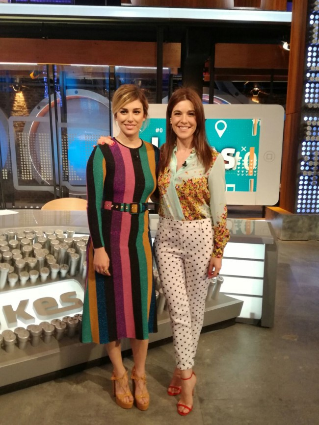 Raquel Sánchez Silva y Blanca Suárez