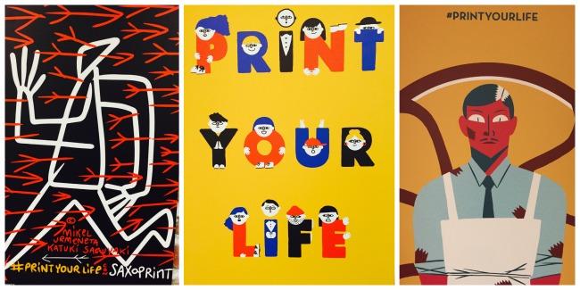 Ilustraciones de Print Your Life