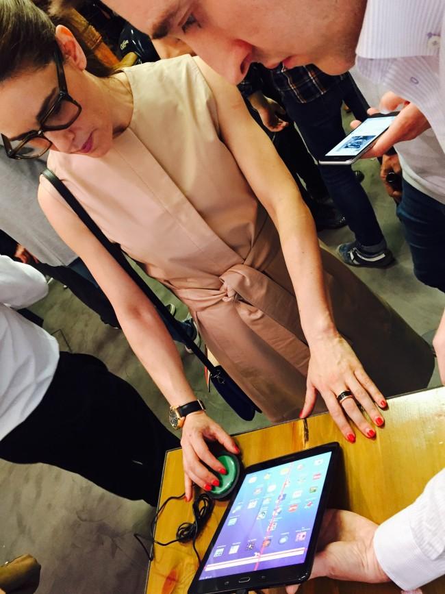 Raquel Sánchez Silva, en el evento de Printing your real life