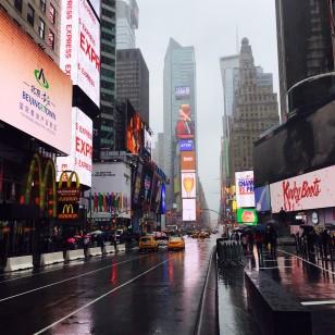 Imagen de Nueva York tomada por Raquel Sánchez Silva
