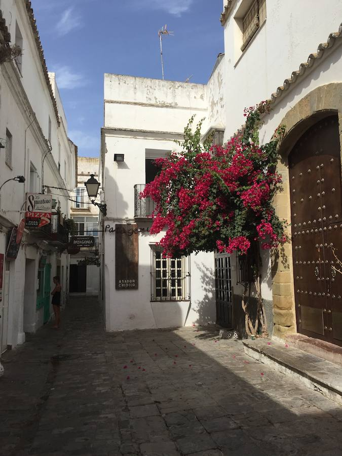 Un rincón de Tarifa, lugar de inspiración para Raquel Sánchez Silva