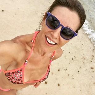 Raquel Sánchez Silva en su excursión a Cozumel